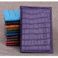 Wholesale Alligator Pattern PU Travel Passport Holder from china suppliers