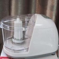 Wholesale 1L Stainless steel blade Electric Food Chopper with glass, plastic cup from china suppliers