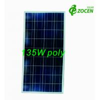 Wholesale 135W 18V Rated Poly PV Solar Panel For RV / Camping / OFF- grid Solar System from china suppliers