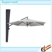 Wholesale Folding Wall Mounted 9Ft Offset Patio Umbrella , Outdoor Wall Telescopic Umbrella from china suppliers