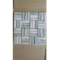 Wholesale Yellow Quartzite Mosaic P014 Wall Mosaic Natural Stone Mosaic Pattern Stone Floor Mosaic from china suppliers