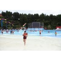 Wholesale 11m / 8m Height High Speed Slide, 5 Riders Fiberglass Water Slides Water Park Equipment from china suppliers