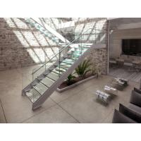 Buy cheap High Quality Steel Glass Staircase from wholesalers