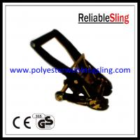 Wholesale 2 Inch 5T Breaking Strength Black Ratchet Buckle / 5T Tie Down Buckles from china suppliers