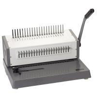 Wholesale 450 Sheets Electric Binding Machine , Electric Comb Binding Machine from china suppliers