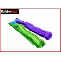 Wholesale Tested Endless Polyester Web Sling For Pipe Lifting Safety Factor 7-1 Heavy Duty Slings from china suppliers