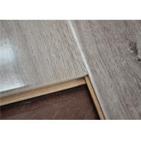Wholesale Waterproof Grey Embossed Laminate Flooring 12mm for Residential / Commercial from china suppliers