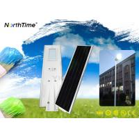 Wholesale PIR Sensor Integrated Solar Street Light Automatic ON / OFF LED Outdoor Lighting from china suppliers