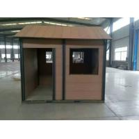 China Waterproof Coffee / Brown WPC House With Wood Plastic Composite Material on sale