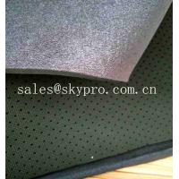 Quality SBR Soft Looped Neoprene Fabric Roll Perforated Airprene Fabric With OK Fabric for sale