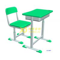 Wholesale Height Hollow Polythylene Adjustable Student Desk And Chair Set Size 600*400mm from china suppliers