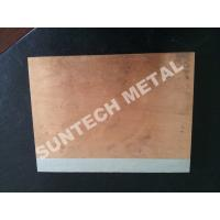 Wholesale C1020 / A1050 Aluminum Copper Clad Plate , Explosion Cladded Plate from china suppliers
