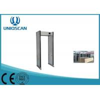 Wholesale UZ800 Multiple Size Walk Through Metal Detector For Government Office from china suppliers