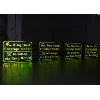 Wholesale High Resolution Electronic Message Boards , P31.25 Road Traffic LED Warning Signs from china suppliers