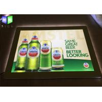 Wholesale LED Lightbox Display , Indoor Wall Mounted Crystal LED Light Box For Beer Sign from china suppliers