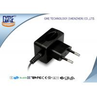Wholesale CE / GS EU plug 12W AC DC Switching Power Supply 100% Aging Test from china suppliers