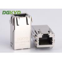 Wholesale One Port PoE Rj45 Transformer , 1000m Integrated 12 Pin Rj45 For Fiber Optic Transceiver from china suppliers