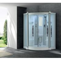 Wholesale Acrylic White Shower steam cabin massage shower room G248 from china suppliers