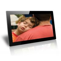 Wholesale Black 18.5 Inch Baby / Friends Wall Mounted Digital Photo Frame Supports SD / MMC Cards from china suppliers