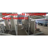 Quality 15tons skid lpg gas station with double weighting scales for sale, factory sale best price 15tons mobile skid lpg plant for sale