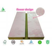Wholesale 4-FtX8-Ft pink melamine faced wholesale cheap slatwall from china suppliers