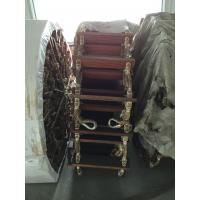 Wholesale Wooden Nylon Rope Boat Boarding Ladders Rubber Pad Pilot from china suppliers