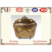 Wholesale Brass Jar With Delicate Decorative Pattern EB9063 from china suppliers