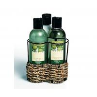 Wholesale Luxurious delightfully scented bubble bath gift set with wire caddy from china suppliers