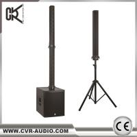 Buy cheap speaker bluetooth wireless church column system powered amplifier sound system from wholesalers
