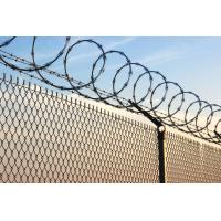 Wholesale High Tensile Razor Combat Wire Security Fencing 450mm 500mm Outside Diameter from china suppliers