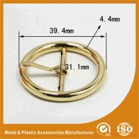 Quality Ring Buckle Specialized Metal Buckle For Handbag Accessories 39.4X31X4.4MM for sale