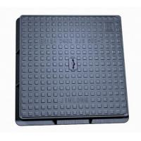 Buy cheap Square, cast iron manhole cover from wholesalers
