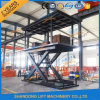 Wholesale 5T 3M Double Layer Hydraulic Scissor Car Lift For Villa Garage 2 Cars Parking Lift from china suppliers