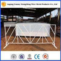 Wholesale US maket popular poweder coated T stand Steel Barricades Crowd Control Barrier from china suppliers