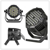 Buy cheap 50 - 60Hz 54*3W 3-pin XLR LED Par Can Lights with aluminum heat sink from wholesalers