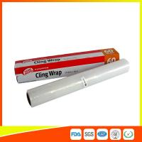Wholesale Household Eco Friendly Plastic Cling Wrap For Food / Vegetables Packaging from china suppliers