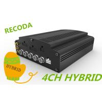 Wholesale Hard Disk SD Card 4 CH hd blackbox car dvr , vehicle camera recorder AHD HYBRID from china suppliers