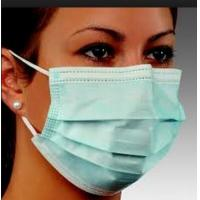 Wholesale 3ply Surgical Disposable nonwoven face mask with earloops from china suppliers