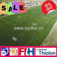 Quality Professional Thiolon Football/ Soccer Field Grass for sale