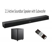 Wholesale Home Audio TV Soundbar With Subwoofer , Remote Control Soundbar With Optical Input from china suppliers