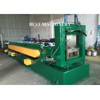 Punching Device U Channel Roll Forming Machine , Galvanized Steel Roll Forming Machine