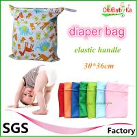 Wholesale Ohbabyka Modern Waterproof Double Zipper Snap Handle Wet Laundry Bags from china suppliers