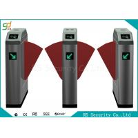 Wholesale Double Wing Intelligent Flap Barrier Gate Metro Pedestrian Gym Turnstile from china suppliers