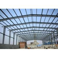 Wholesale Prefab Metal Buildings Long Span Steel Structures With Sandwich Panels​ from china suppliers