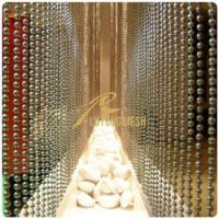 Wholesale Metal bead curtain hotel room curtain from china suppliers