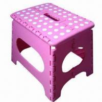 Wholesale Plastic folding stool, durable and anti-slide from china suppliers