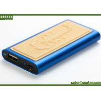Wholesale Scorpion Design Leather Power Bank 2000mAh Lithium Polymer Battery With Laser Logo from china suppliers