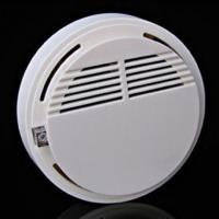 Wholesale Wireless Cordless Smoke Detector Fire Alarm 433MHz for ip camera office security system from china suppliers
