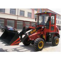 Buy cheap Zl12F - E Euro III Engine articulated wheel loader machine 0.6m3 Bucket , 1.2t Rated Loading from wholesalers