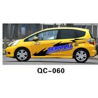 Wholesale UV offset printing Water Proof Car Body Sticker QC-060C from china suppliers